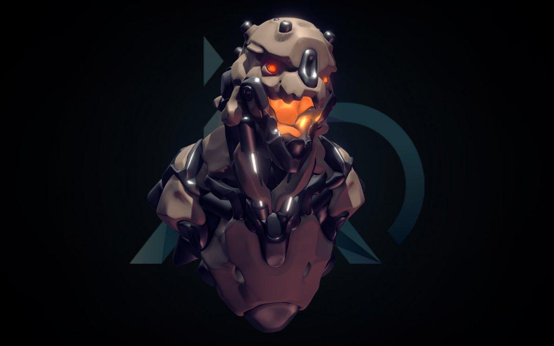 Sci-Fi Skull