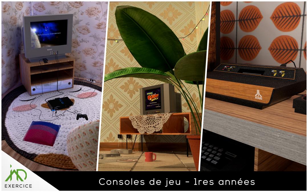 consoles de jeu
