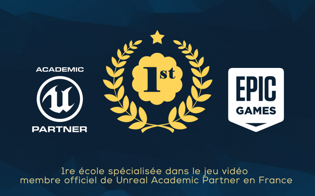 IAD membre officiel du Unreal Academic Partner