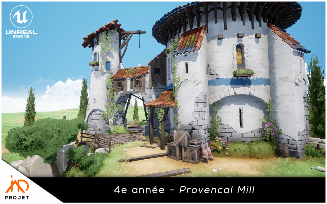 Provencal Mill